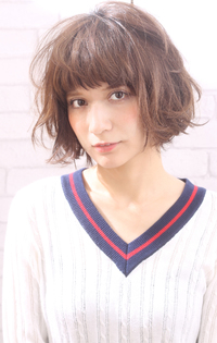 【Maria by afloat】吉澤侑子 メルティーカラー☆ラフウェーブボブ