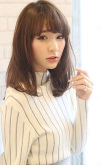 【Maria by afloat】吉澤侑子 大人フェミニン☆シナモンカラーミディ