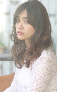 【Maria by afloat】吉澤侑子 大人のミックスカールセミディ