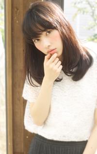 【Maria by afloat】吉澤侑子 シースルーバングのミディアムスタイル