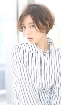 【Maria by afloat】吉澤侑子 ゆるふわアッシュ☆美髪くせ毛風大人かわいいナチュラルショート