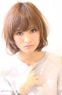 【Maria by afloat】吉澤侑子 小顔ふわボブメルティカラースタイル