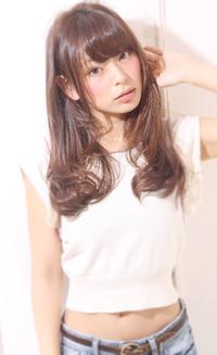 【Maria by afloat】吉澤侑子 ワンカールAラインフェミニンロングスタイル