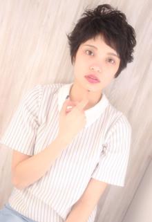 ニュアンスショート♪ Maria by afloatのヘアスタイル