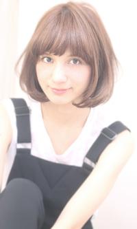 万能ひし形ヘア☆大人かわいいナチュラルボブ