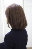 前髪を伸ばしかけの方にもオススメなふんわり大人ボブs-285
