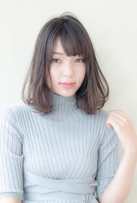 抜け感たっぷりの大人ロブ【カーキグレージュ】U-96