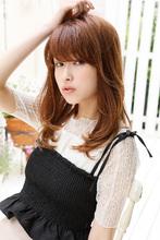 可愛さと上品さを併せ持つ内巻きのニュアンスストレート|Maria by afloat 鎌倉 彩のヘアスタイル