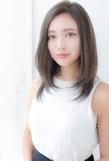 ハイ透明感大人ミディ【シトラスグレージュ】U-191