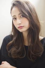 【添田】ヴェールウェーブグレージュロング大人かわいいスタイル|Maria by afloatのヘアスタイル