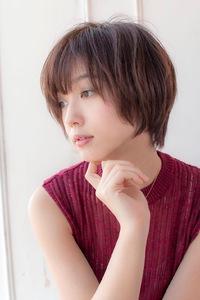小顔ショート【ラベンダーアッシュ】U-194