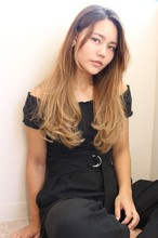 秋に似合うワンカール小顔ロング|Maria by afloatのヘアスタイル