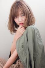 【添田】3Dカラー 斜めバングなミニマムボブふわミディs-21|Maria by afloatのヘアスタイル