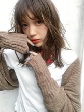 「鎌倉」大人切りっぱなし外ハネロブ 14|Maria by afloatのヘアスタイル