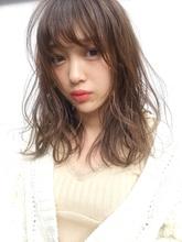 「鎌倉」小顔フェミニンモテゆるふわパーマ 16|Maria by afloatのヘアスタイル