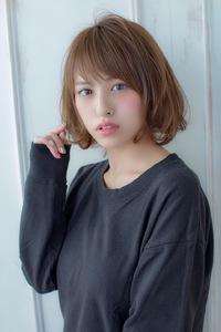 小顔ショートミディ【ラベンダーアッシュ】U-215
