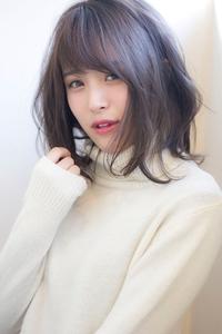 暗髪イルミナカラーヘルシーレイヤーデジタルパーマs-33