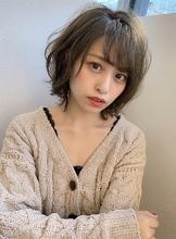 ヘルシーレイヤー大人かわいいひし形ミニマムボブs-39|Maria by afloatのヘアスタイル