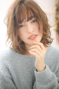【重山祐亮】柔らかミックスカールセミディ♪S43