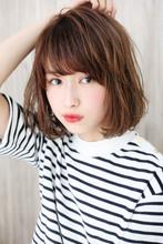内巻きアンニュイボブ♪S63|Maria by afloatのヘアスタイル