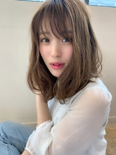 アフロートスタイルくびれセミディひし形レイヤーs-78|Maria by afloat 添田 晃正のヘアスタイル
