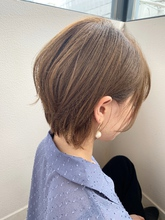 くびれ美シルエット小顔な大人ショートs-74|Maria by afloatのヘアスタイル