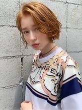 無造作切りっぱなしボブディy47|Maria by afloatのヘアスタイル
