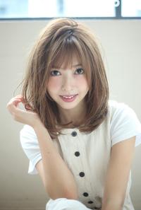 小顔ひし形セミディ♪S98