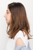 色味と髪質を向上させた弾力性のあるふんわりカール