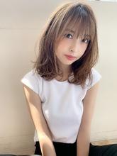 小顔Aラインセミディ♪|Maria by afloatのヘアスタイル