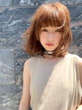 大人かわいい無造作ボブディ 小顔カット アフロート添田|Maria by afloatのキッズヘアスタイル