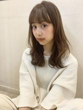 【山田】ラフウェーブ外ハネセミディy70|Maria by afloat 山田 祐里のヘアスタイル
