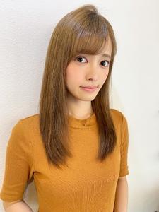 モテさら艶髪ストレートヘアy73|Maria by afloatのヘアスタイル