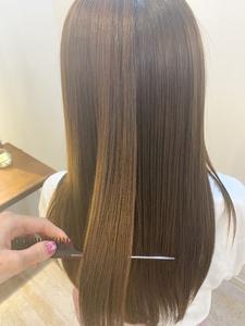 髪質改善☆大人気!酸熱トリートメント|Maria by afloatのヘアスタイル