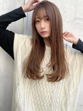 【重山】ナチュラルストレート Maria by afloatのヘアスタイル