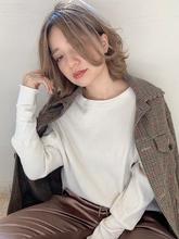 【重山】外ハネカジュアルボブ|Maria by afloatのヘアスタイル