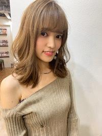 【山田】外ハネくびれウルフブランジュ
