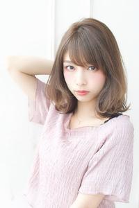 簡単スタイリングミディ【ラベンダーグレー】U-307