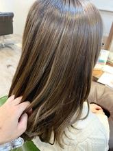 【お客様スタイル】ハイライトブランジュ|Maria by afloatのヘアスタイル