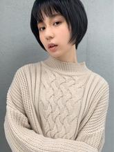 アフロート 小顔ショートレイヤー|Maria by afloatのヘアスタイル