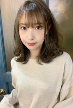 【重山】外ハネカジュアルセミディ♪|Maria by afloatのヘアスタイル