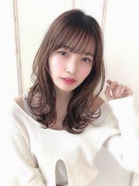 女子アナ風清楚セミディ【シナモンブランジュ】U-329