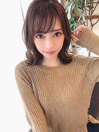 女子アナ風清楚セミディ【シナモンブランジュ】U-331