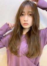 小顔Aラインロング♪|Maria by afloatのヘアスタイル