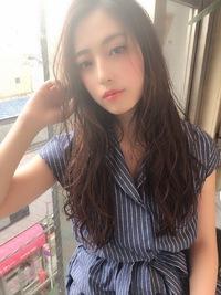 女子アナ風ラフセミディ【シナモンブランジュ】