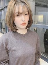 ナチュラル小顔ひし形ボブ♪|Maria by afloatのヘアスタイル