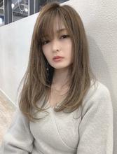 【重山】小顔ストレートカールロング♪|Maria by afloatのヘアスタイル