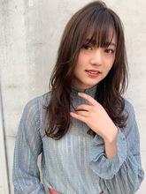 強すぎないゆるっとパーマ|Maria by afloat 篠田 実柚のヘアスタイル