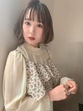 まとまりやすい丸みのあるくびれボブ|Maria by afloat 篠田 実柚のヘアスタイル