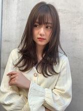 ハイレイヤーで動きのでるロングスタイル|Maria by afloat 篠田 実柚のヘアスタイル
